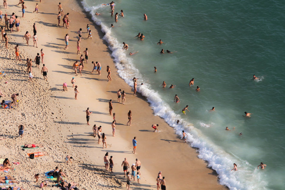 Beautiful stock photos of portugal, Aerial View, Beach, Day, Enjoyment