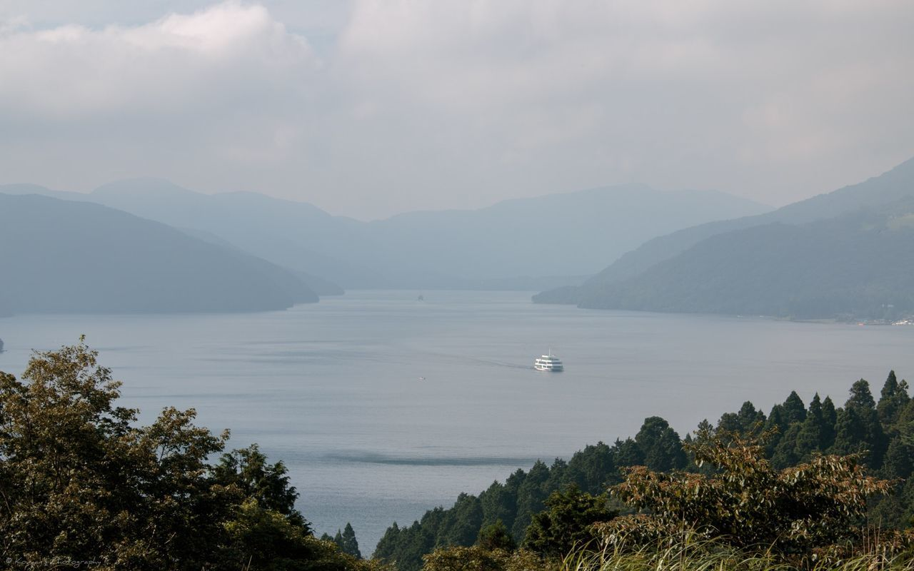 Landscape Landscape_Collection Landscape_photography Lake Lake View Ship Pleasure Boat Odawara Canon EOS 70D Canon 70d