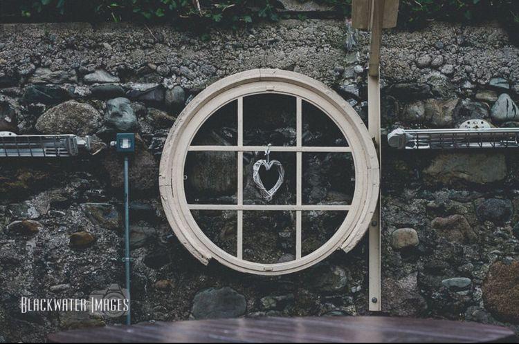 Heart Heart Decoration Beer Garden Circle Brick Stone Barrel Table Mchughes Newcastle Northern Ireland