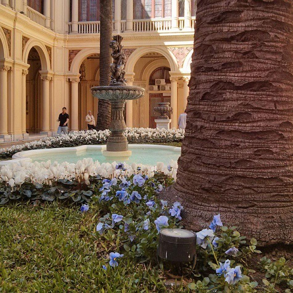 Jardins da casa da tia Cris. Cristina Kirchner Argentina Buenosaires CasaRosada