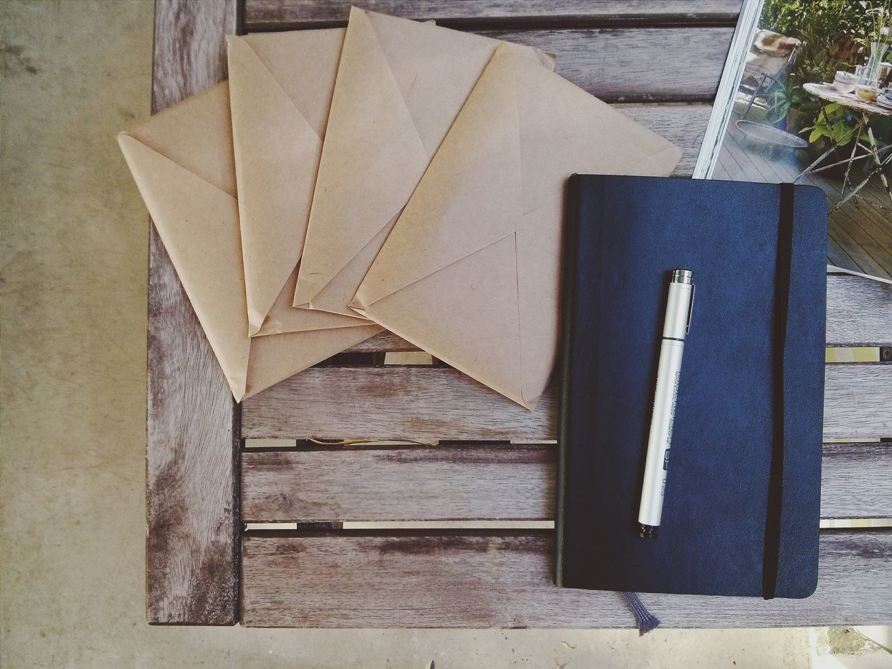 Wochenende. Writing Balcony Letters Moleskine