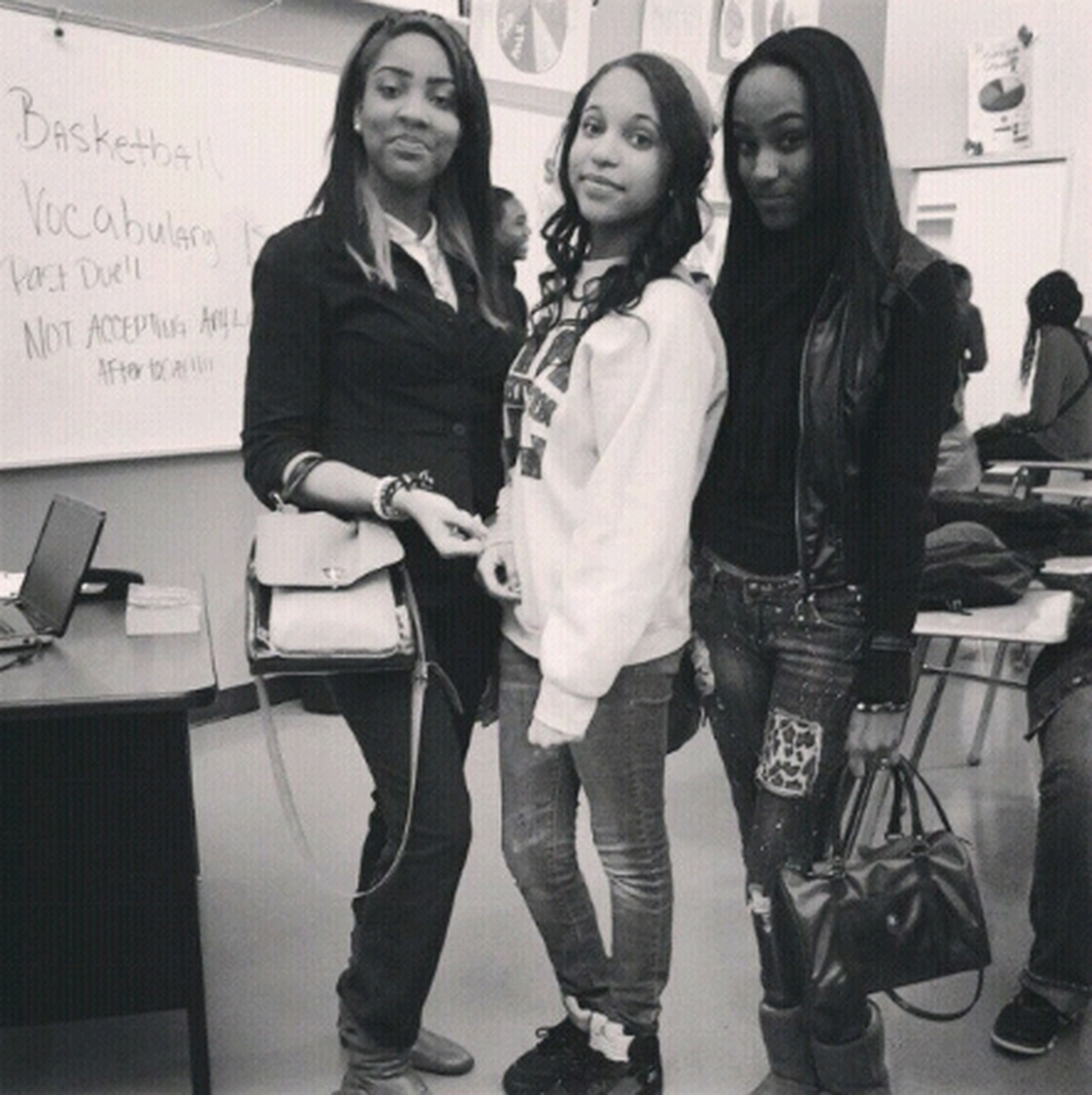 I Look Dumbass Hell But With My Girls