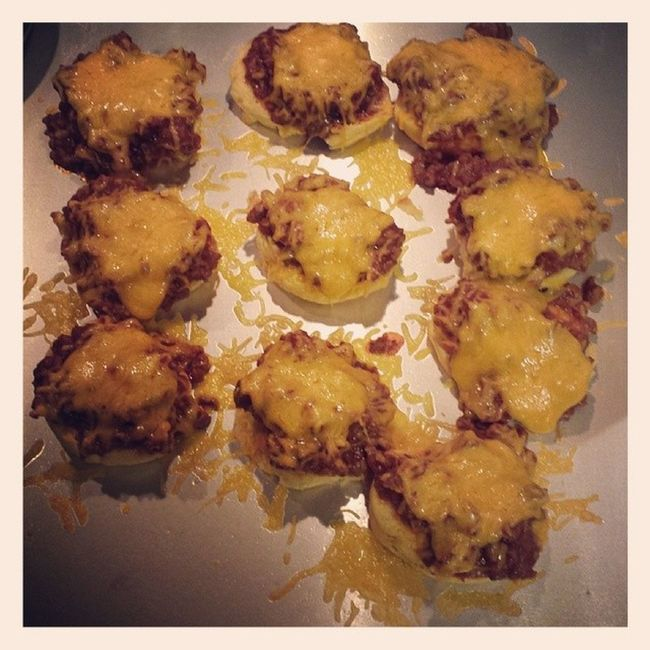 Mini sloppy joe biscuits...it's what's for Dinner