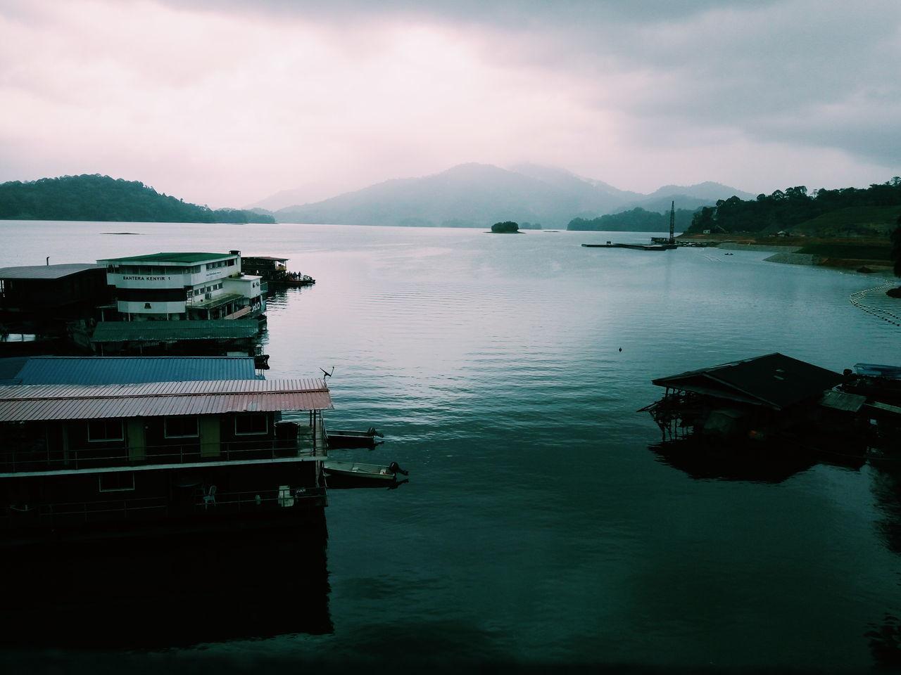 Man made lake, the Dam of Kenyir. Dam Kenyir Manmade Lake Biggest Lake
