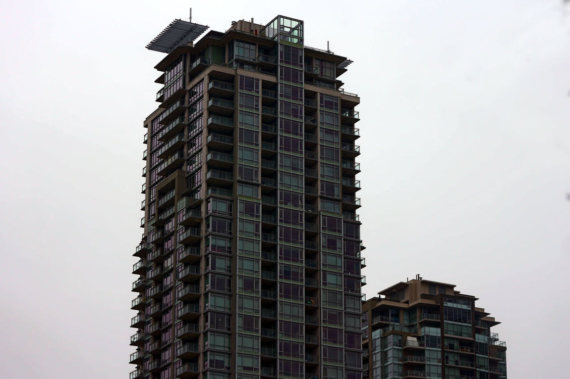 Skyscraper in Coquitlam B.C. Canada. Building Exterior Sky No People City Outdoors Urban Skyline Skyscraper Coquitlam Bc