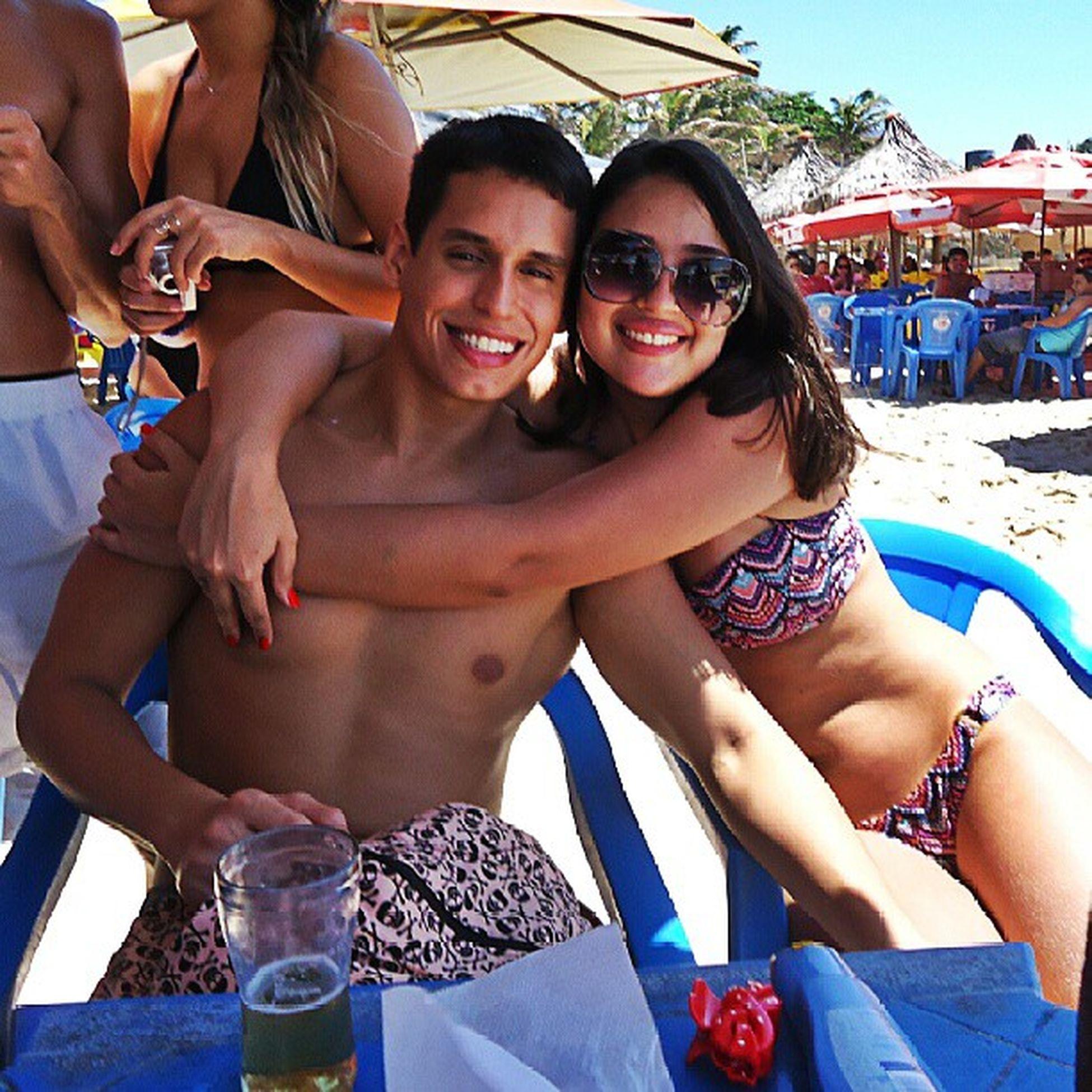 Faz feliz meu coração ♥ Beach Boyfriend Love Sun smile sunglasses happy