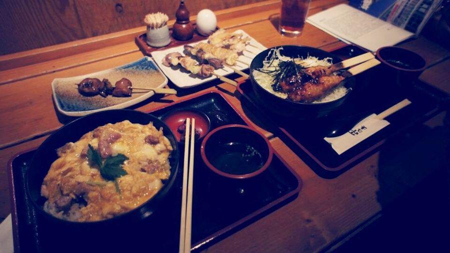 Tokyo Local Food Chicken Donburi
