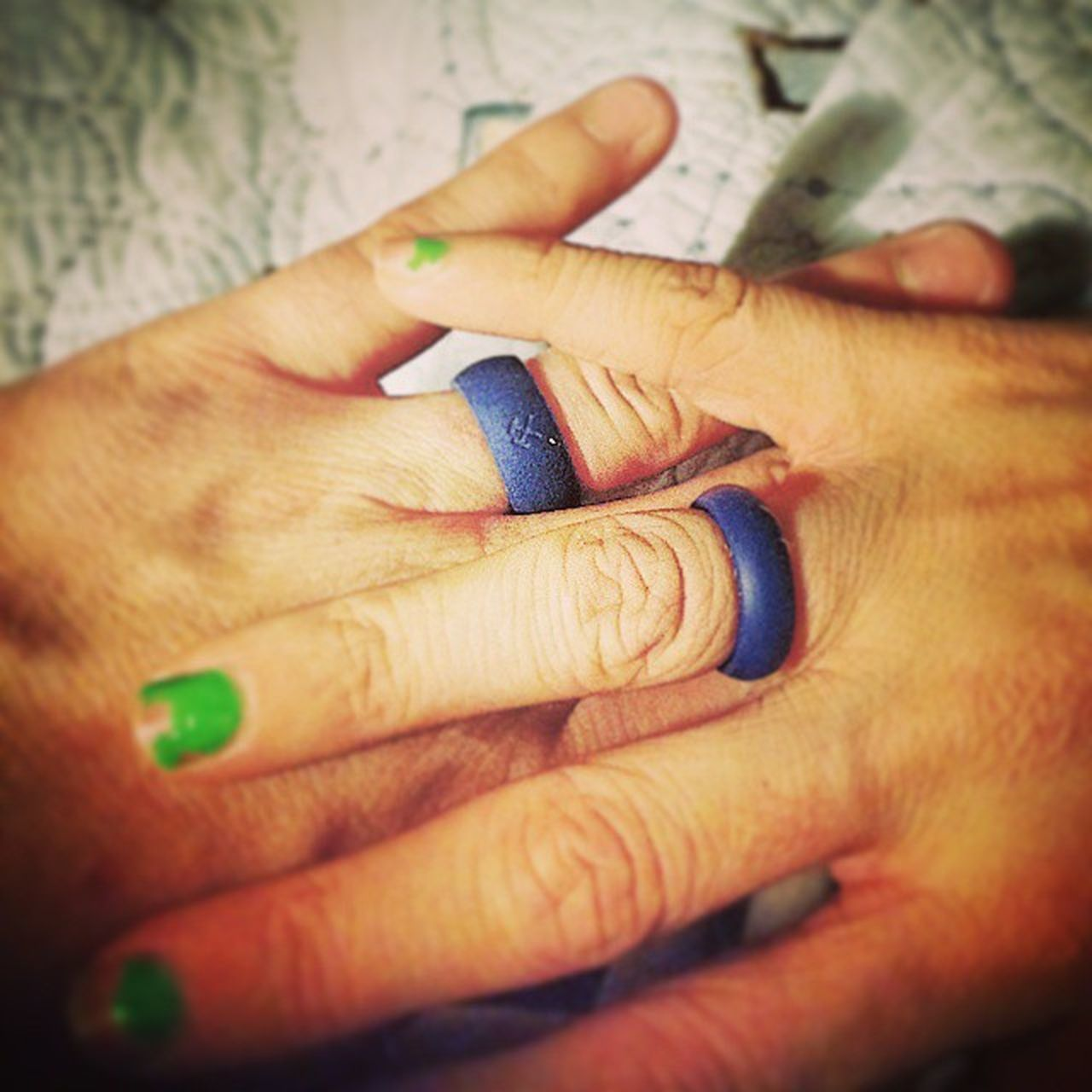 Matching rings! Qalo