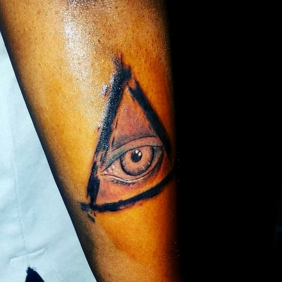 Fresh Ink New Tattoo All Seeing Eye All Seeing Eye4photography Illuminati October 23, 2015.