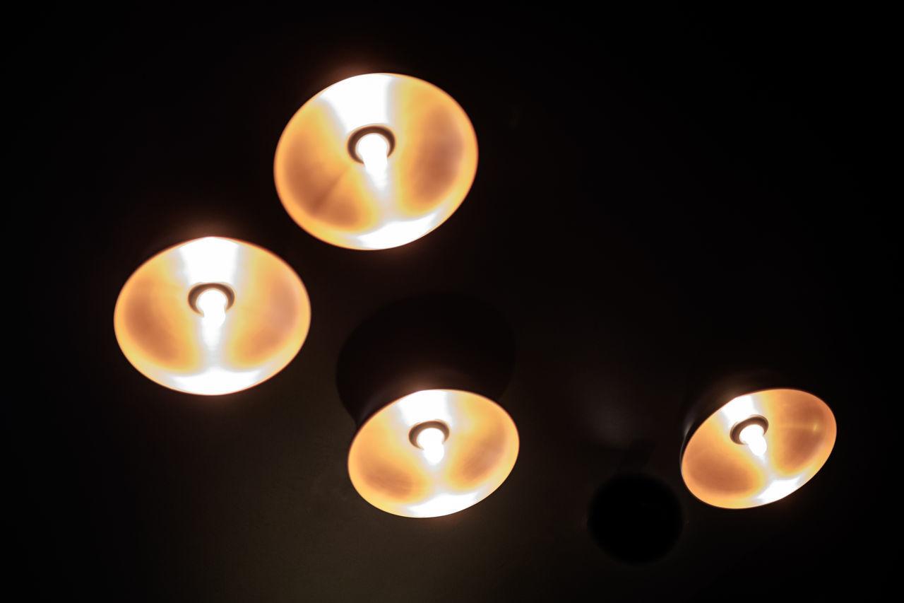 Black Background Burning Candle Close-up Diya - Oil Lamp Flame Glowing Heat - Temperature Illuminated Indoors  Lamps Lighting Equipment Night No People Studio Shot Tea Light UFO Ufos