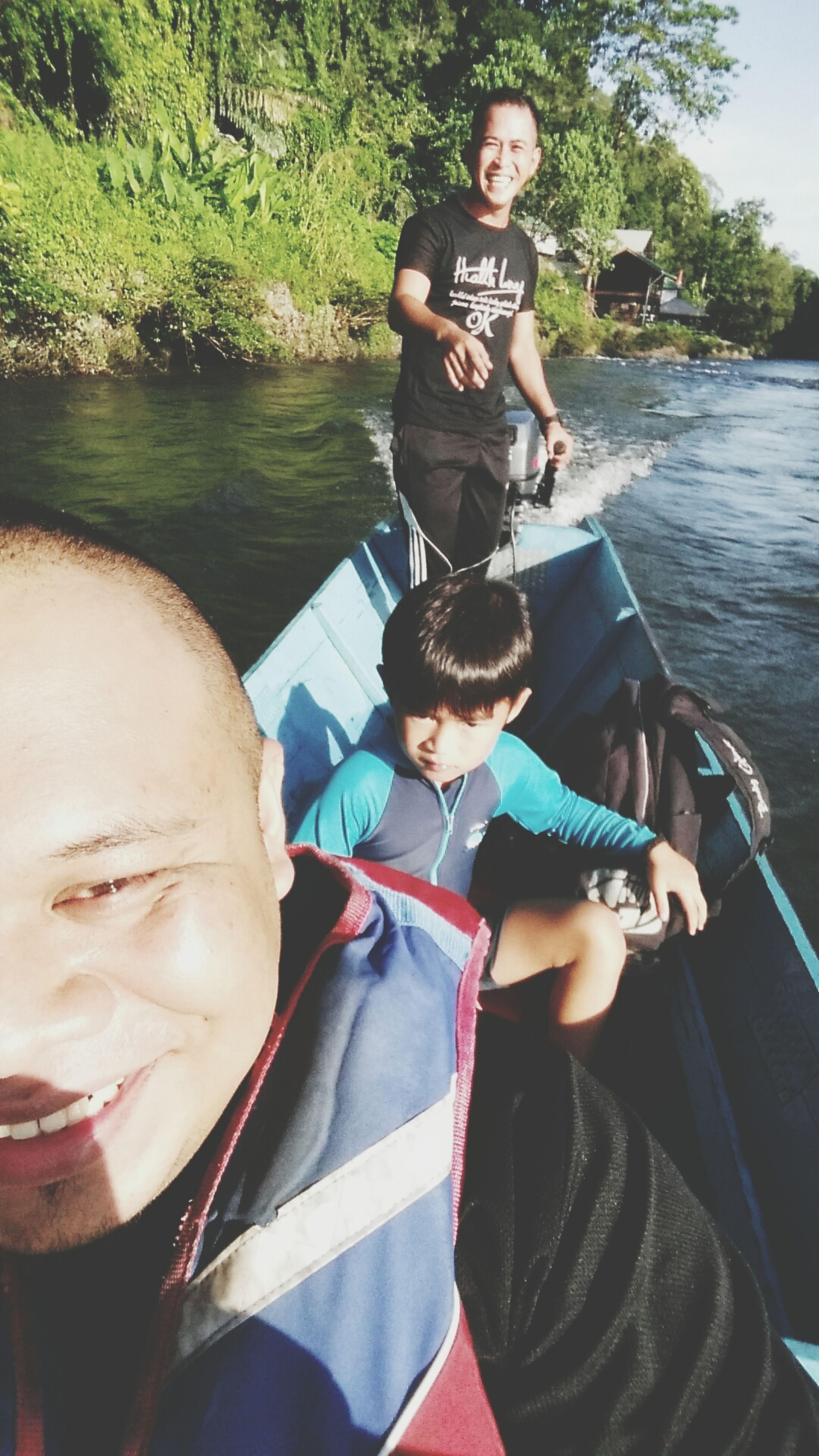 Ulu-ulu belalong working vacation Belalong Temburong
