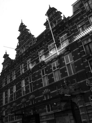 what i see from the bus at Station Amsterdam Amstel by Marty