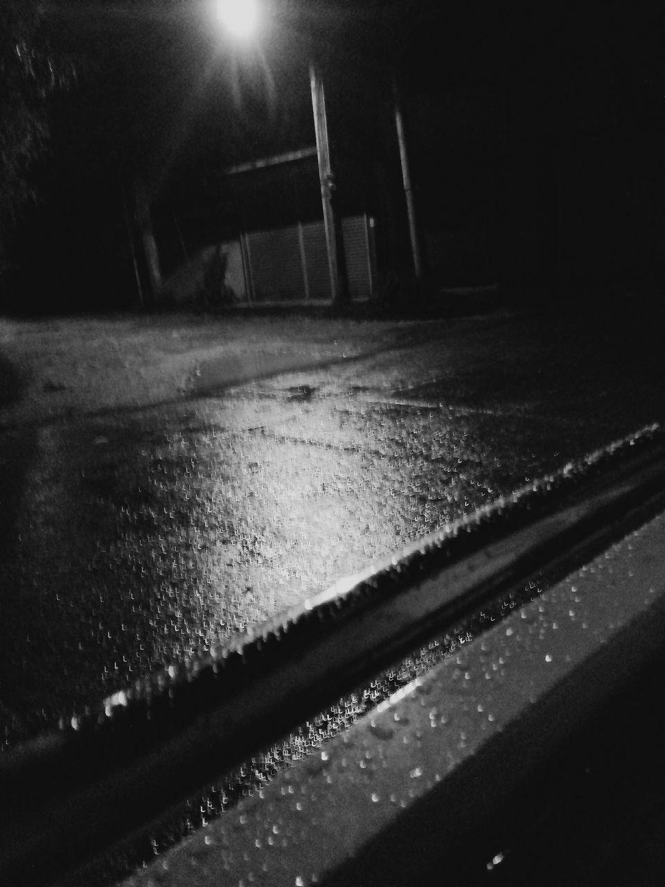 night, illuminated, no people, indoors, close-up