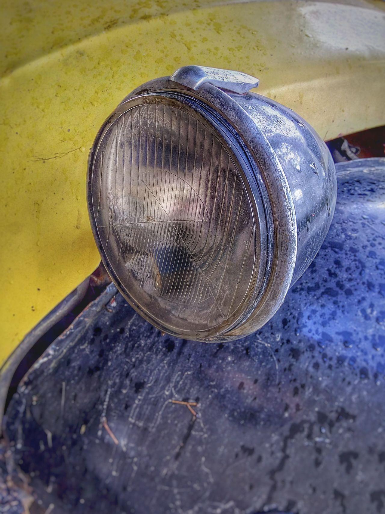 Car Light Lamp Oldtimer Vintage Cars Retrica Retro Retro Car Carlight Yellow Blue Citroen 2cv Citroen Glass Glasses Glass - Material Reflector Car Porn Old Old Car Oldtimer Love Chrome Chrome Light Chrome And Glass
