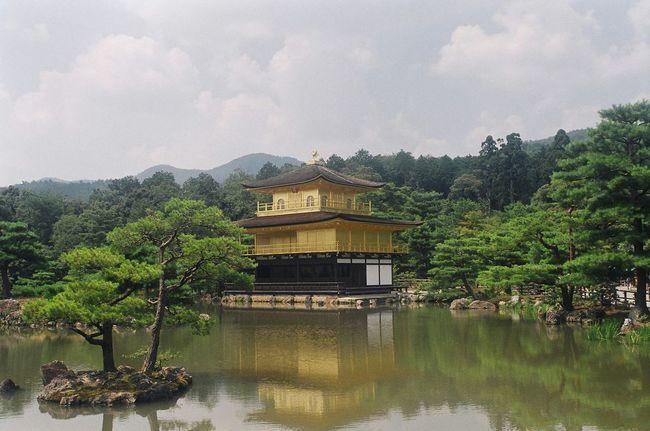 京都 金閣 Kyoto Kinkakuji この前また京都に日帰り行って来ました、とにかく暑かったです…
