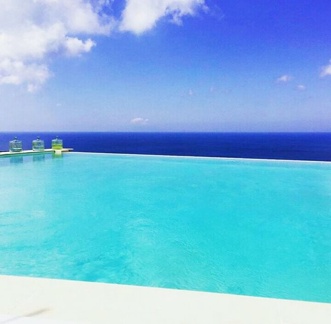 Sea And Sky Blue Sea Views Summer Water Mykonos Photography Cheese First Eyeem Photo