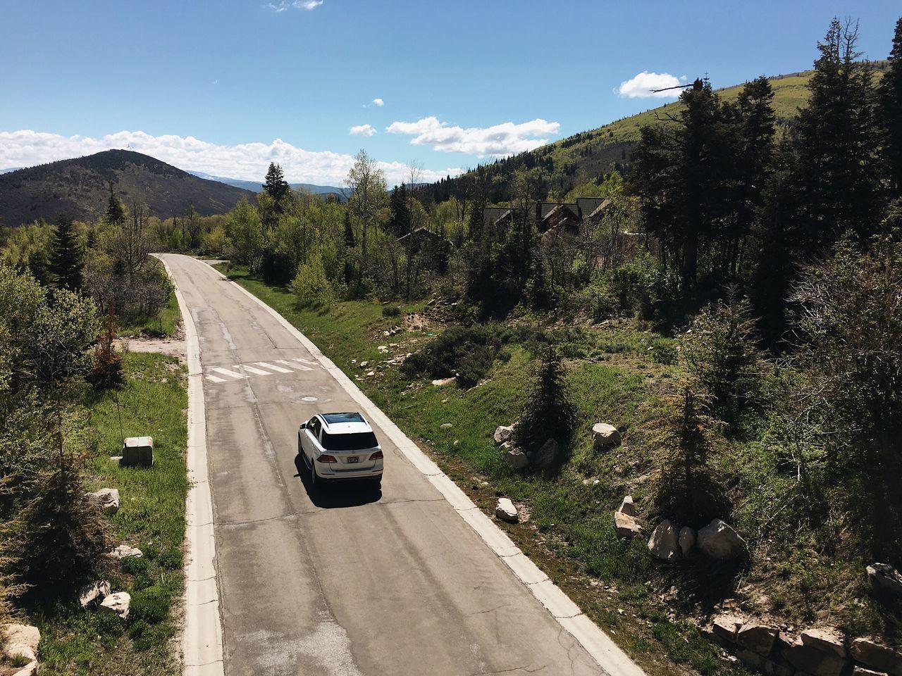 mountain roads. they go and go. Parkcityutah