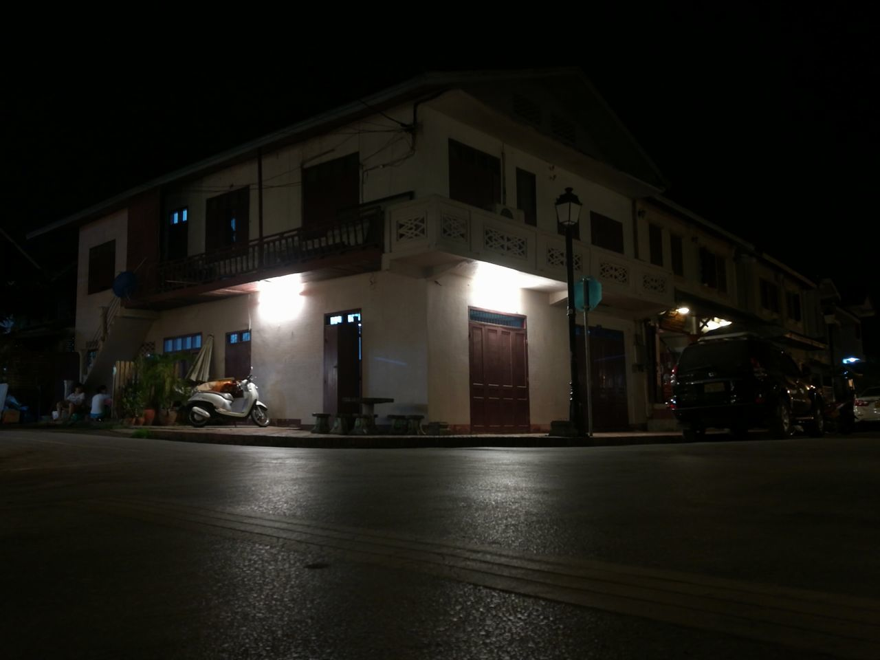 Night Architecture City Built Structure Building Exterior Outdoors No People Building Lao Culture Street Photography Asianlife EyeEmNewHere Asien Asianstyle Laos Travel Architecture Residential Building Nightphotography Night Lights Night Photography Nightlife Home Sweet Home ♥ Home Nighttime Night City