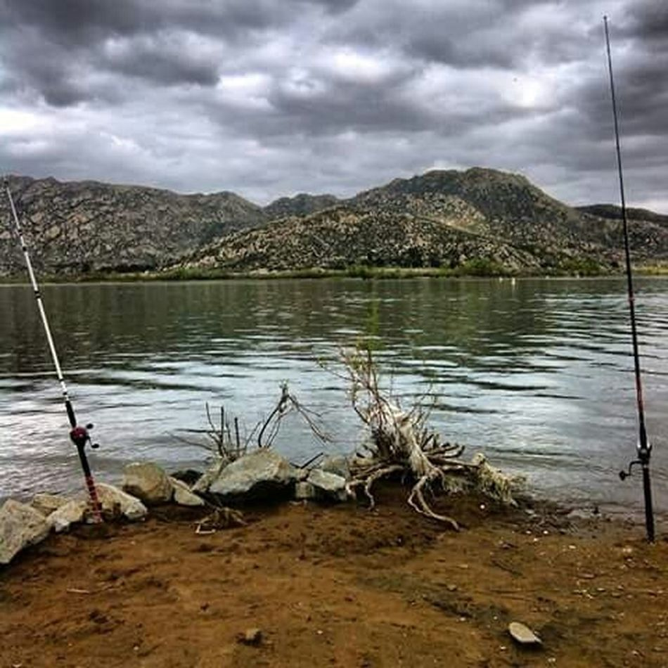 Fishing at perris lake Lovely Weather Nature Naturelovers Nature_collection Nature Photography