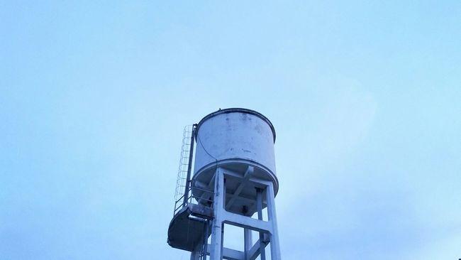 Sky Watertank Tank Blue Minimalism Noedit Landscape Eyeemlandscape