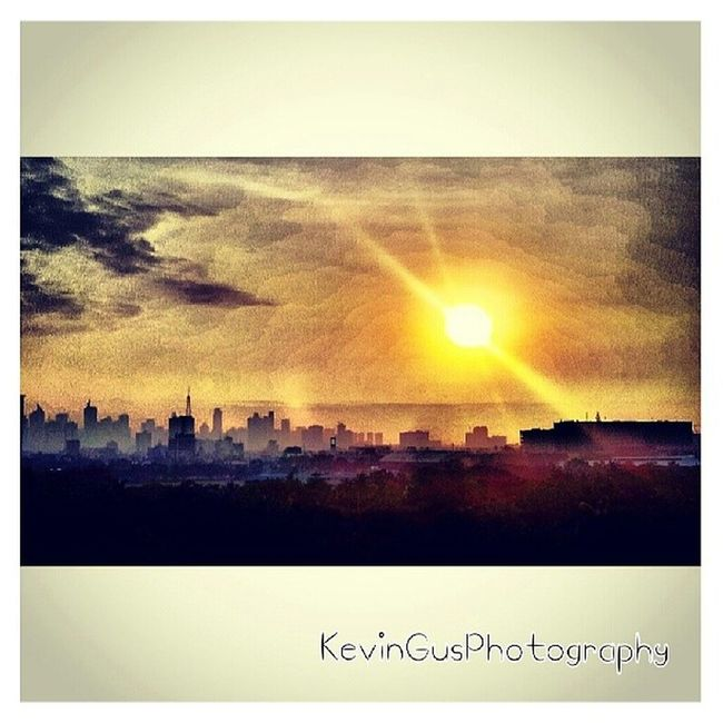 Sunrise over Manila's Cityscape.... this was taken right at the balcony of our room in Sofitelmanila Luxuryhotel Cityscape Manila sunrise samsungphotography phonephotography s2photography itsmorefuninthephilippines travelphilippines travelasia discoverphilippines