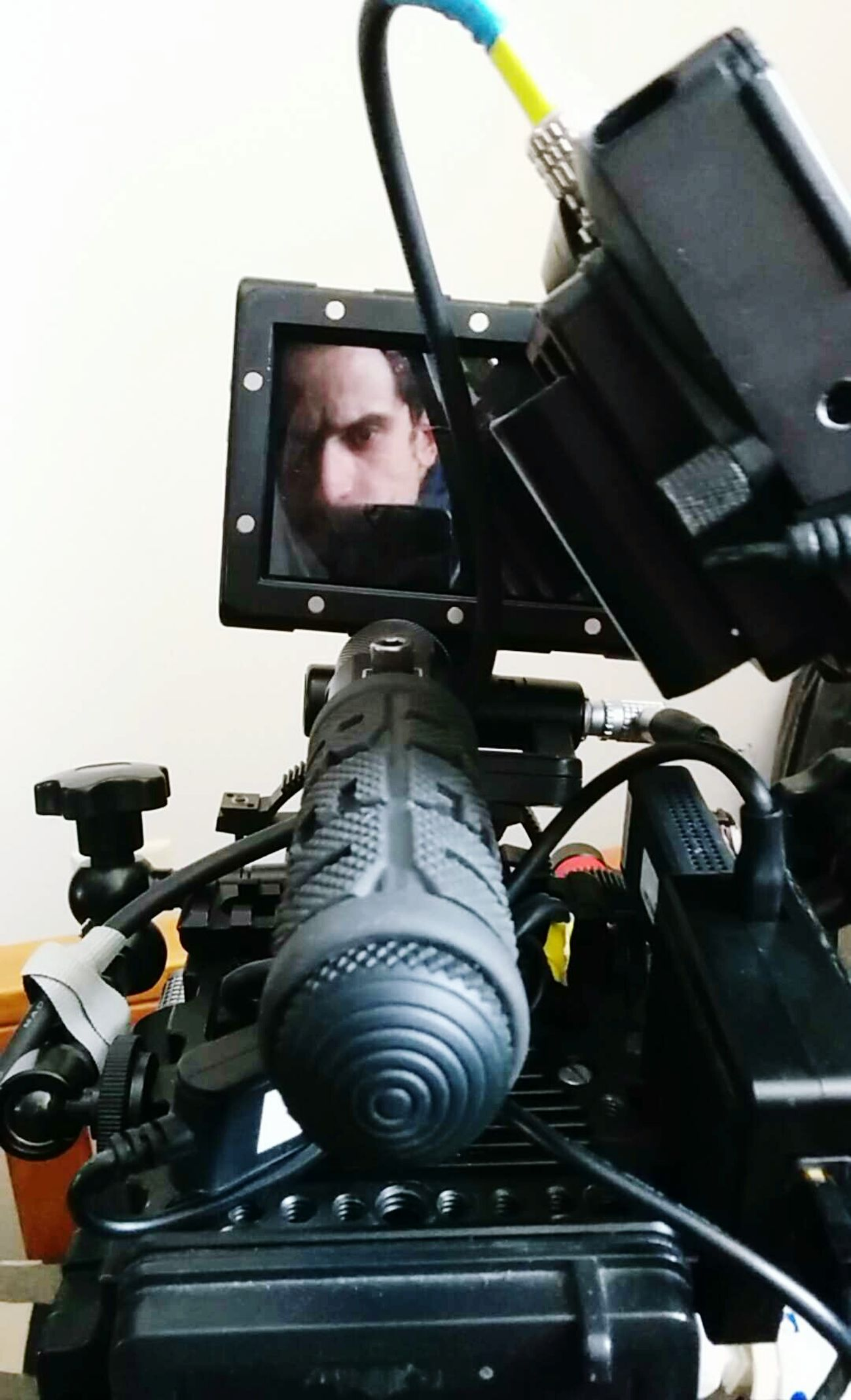 In set with Jamesfranco using a Redepic. Production Stills. Movies Cinema