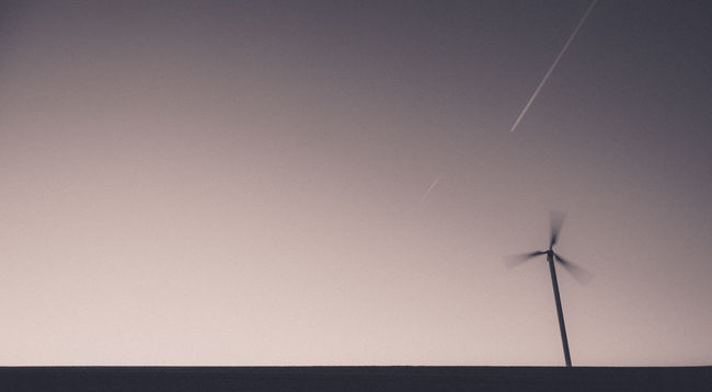 Atmosphere Clear Sky Copy Space Development Landscape Simple Photography Simplicity Sky Technology Wind Weel Windmill Windrad