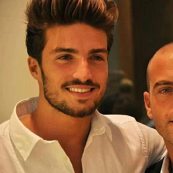 Italian Model Fashion Stylish Hairstyle.  mariano divaio