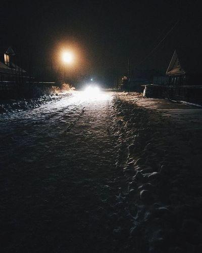 зима снег вечер суббота гулятьдо утрасвет Light Winter Night
