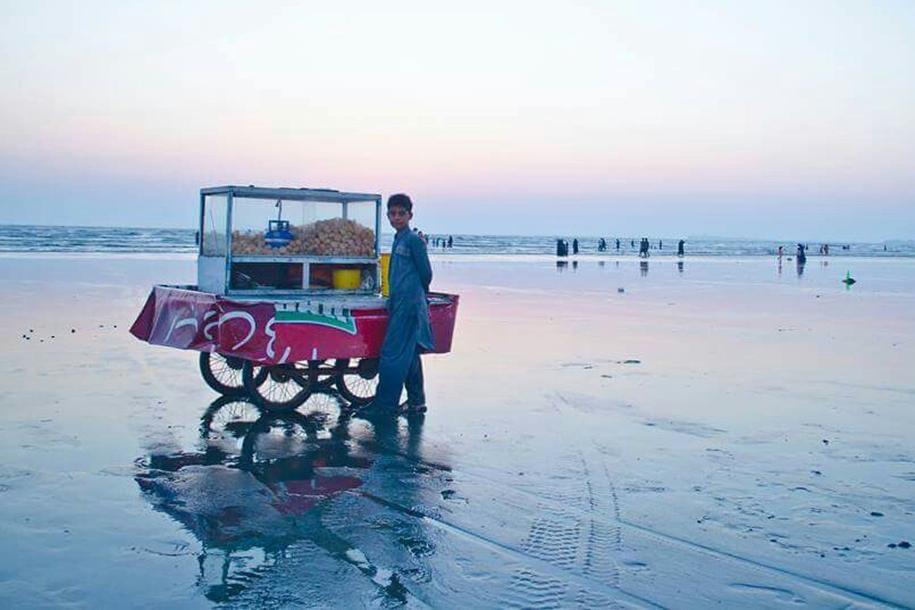 Golgappay at Sea View Beachphotography GolGappa Streefood Throwback Beautiful Nature Beautiful Pakistan Karachi EyeEm Karachi Seaviewcollection Seaview Lovethynature Travel Photography