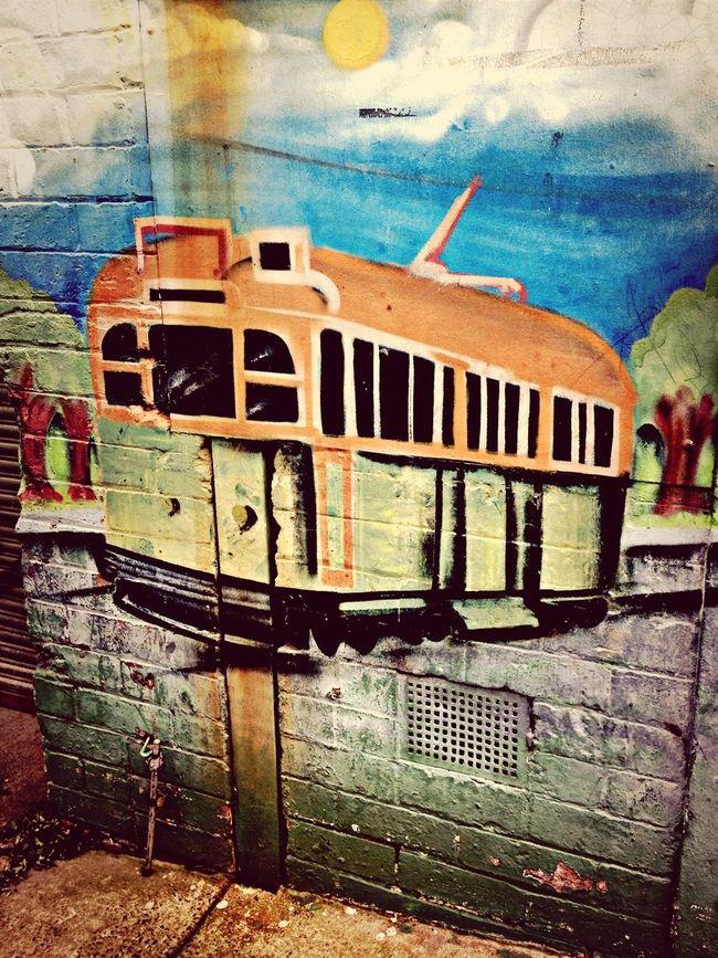 Streetart Old mural