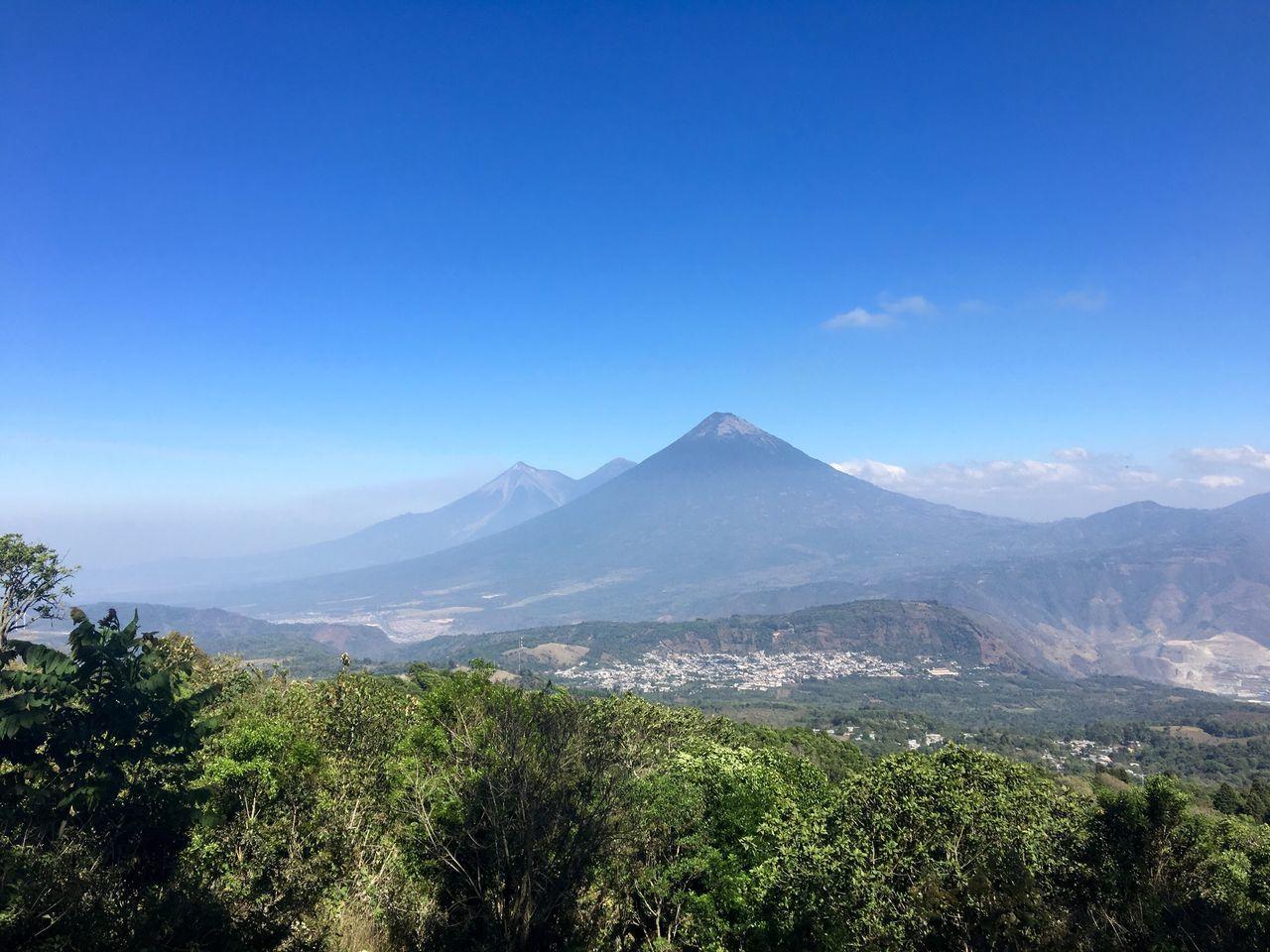 Volcan De Agua Volcán Acatenango Volcan De Fuego Acatenango Guatemala Volcán Pacaya Pacaya Nature
