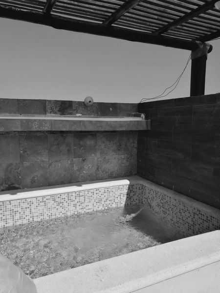 Architecture Built Structure Outdoors No People Day Jacuzzi  Design Ceramic Wood Diseño Arquitectura Pharquitectura Sun Relaxing