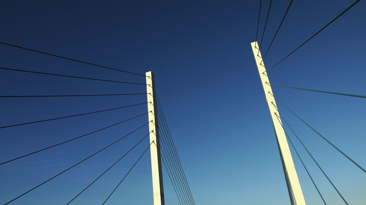 Beautiful stock photos of bridge, Architecture, Belgium, Blue, Bridge - Man Made Structure