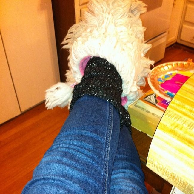 Legwarmers and Fuzzyslippers