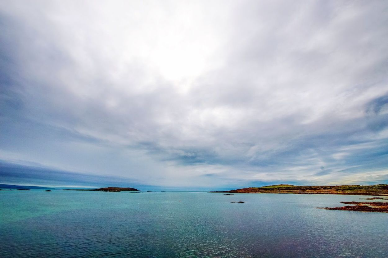 Tranquil Scene Scenics Sky Beauty In Nature Cloud - Sky Gigha Scotland Scottish West Coast Staycation Soul Soup Wide Angle