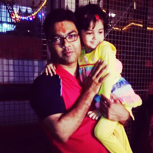 My brother & my niece.. First Eyeem Photo
