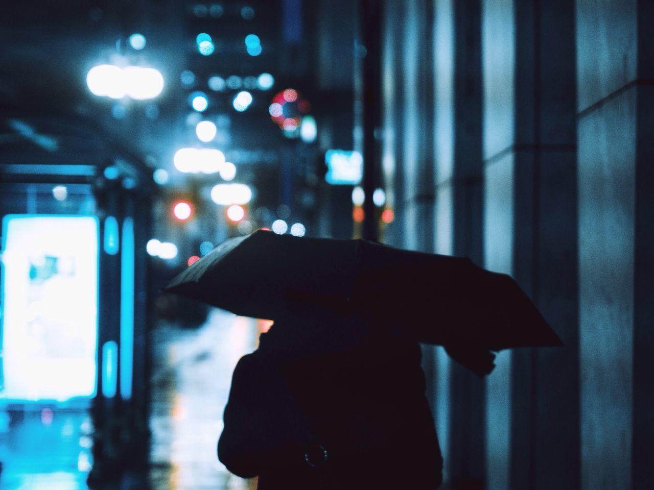 Architecture Chicago Rain EyeEm Best Shots Umbrella Colors Silhouette