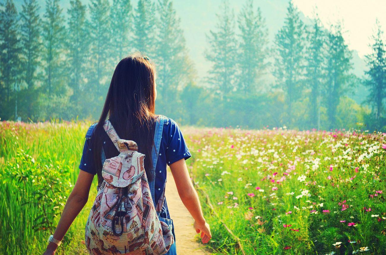 My good Friend . 👩👍❤ EyeEm Nikon D5100  Lady Woman Nikon Flowers Beautiful Nature ไร่จิมทอมสัน Jimthomsonfarm