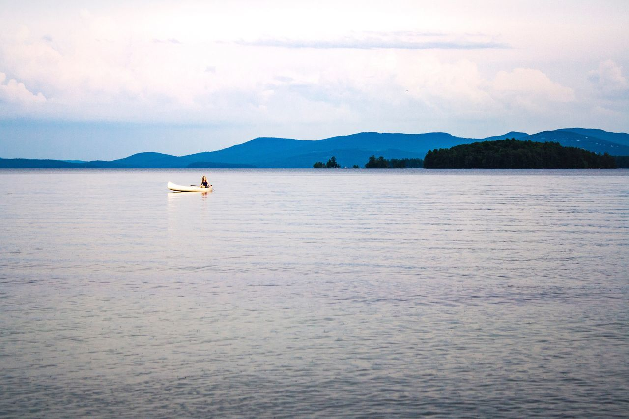 Hidden Gems  Canoe Canoeing Canoe Paddling Rowing Rowing Boat Outdoors Great Outdoors Grandeur Simple Beauty Hidden Treasure New Hampshire Lake Winnipesaukee Touched By Sunlight Exercise Appreciating Nature Nature Photography Natural Setting Landscape One With Nature Serenity Serene Outdoors Inner Peace Getting Away From It All Escaping