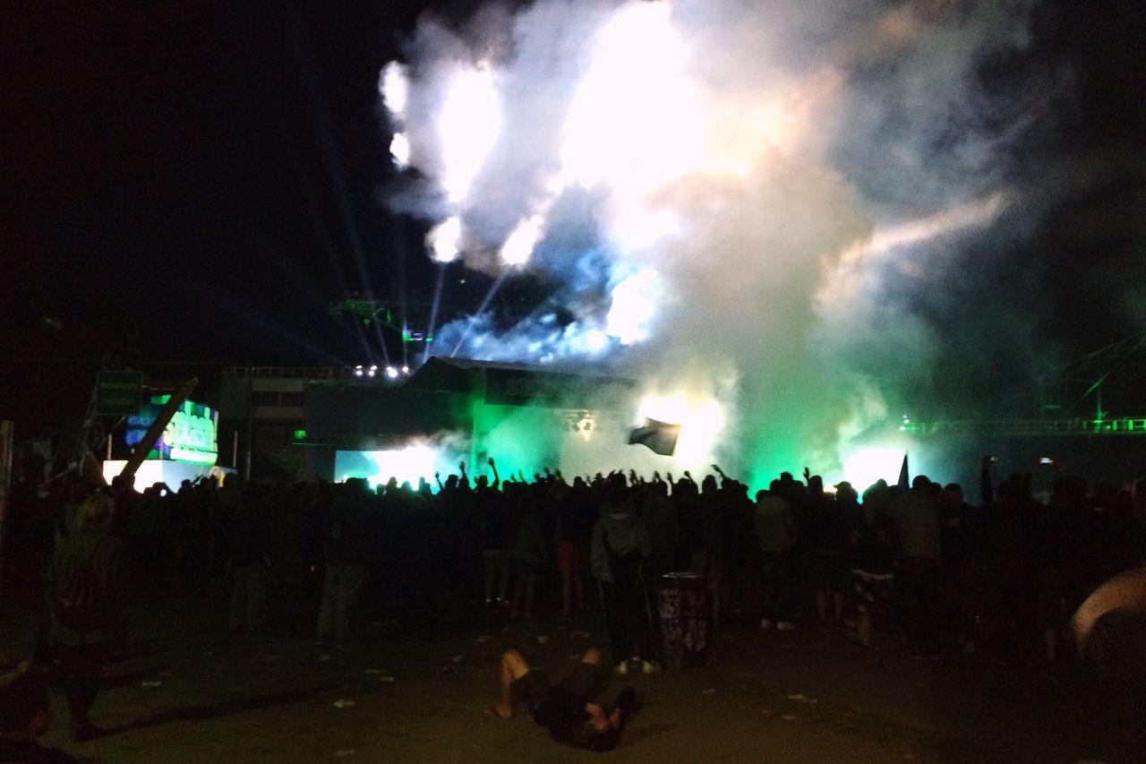 He's done. Splash Ferropolis Marsimoto Festival Season Festival Music Festival Light And Shadow Hip Hop