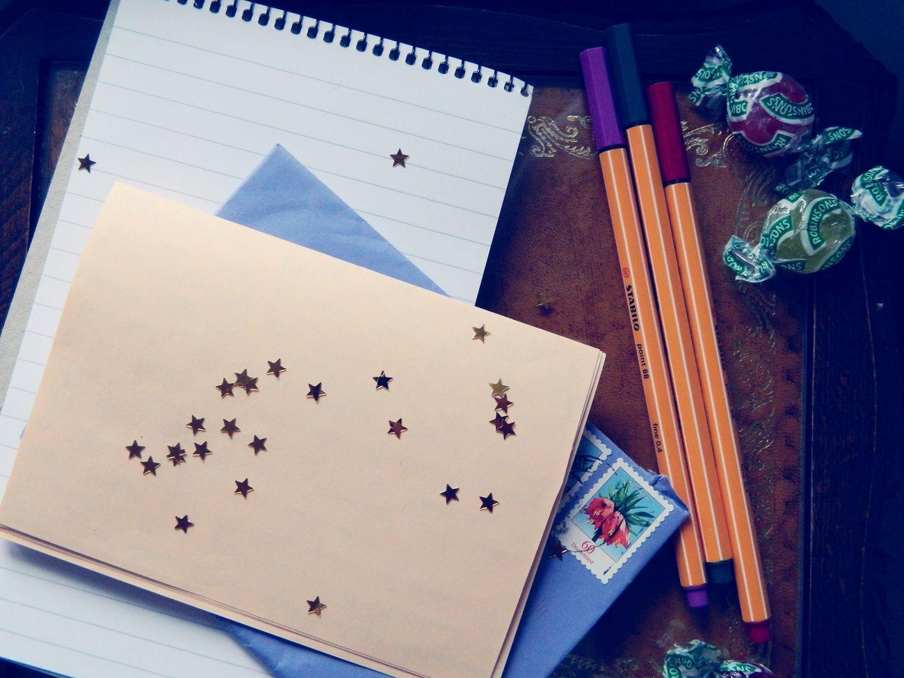 Penpals Letters Stars Writing ?