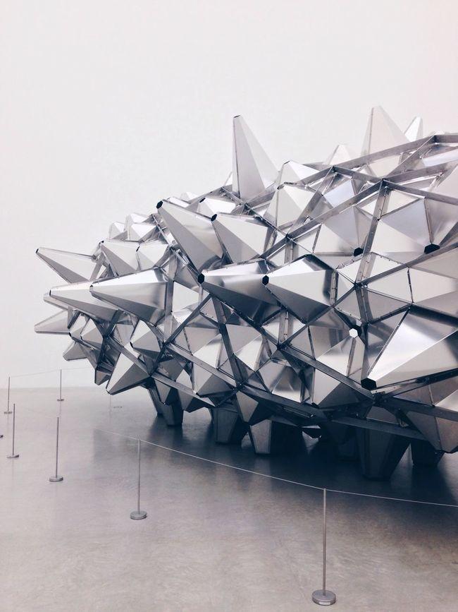 Leandro Erlich Contemporary Art Silver  Design