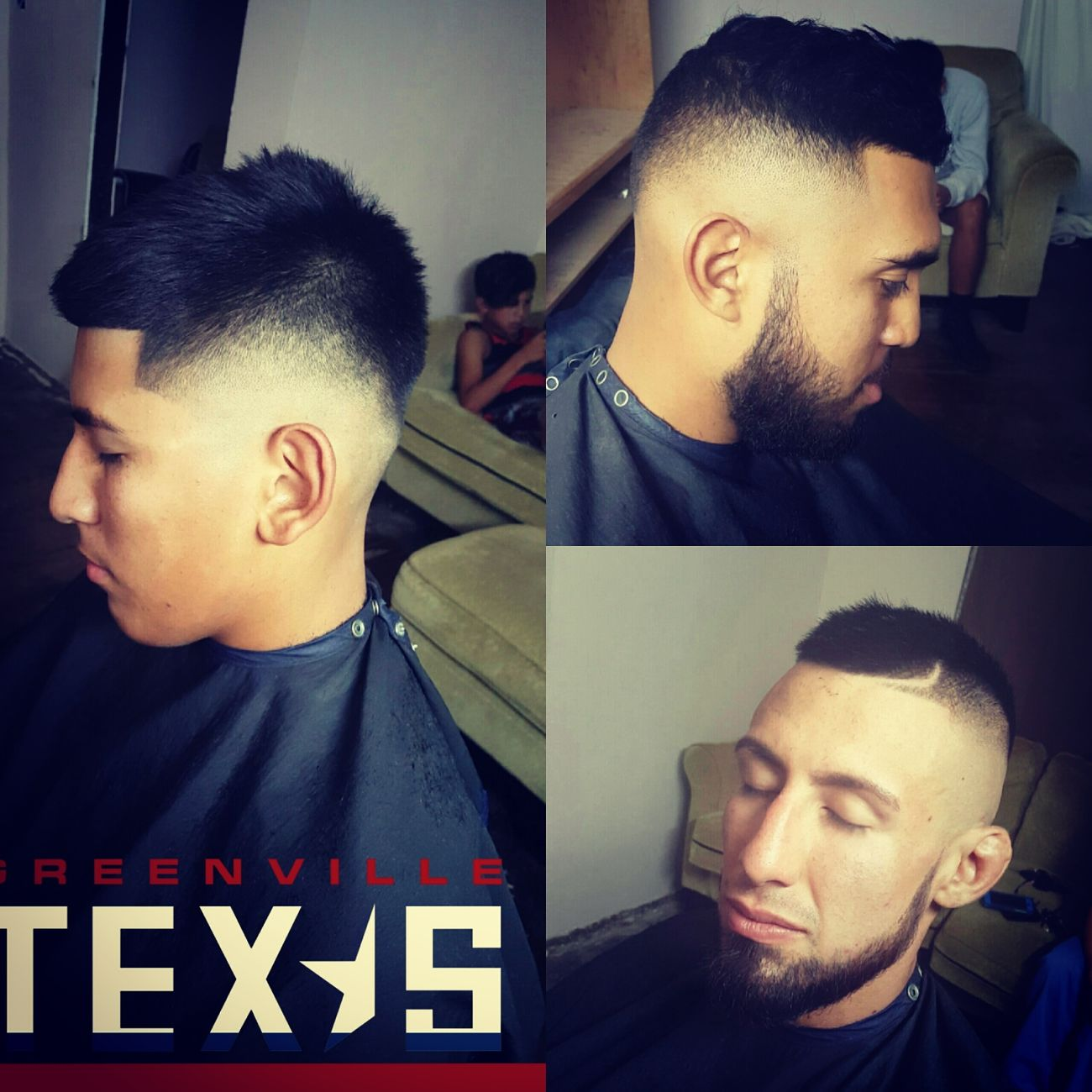 Barberlife Greenville, Tx TaperFade Mohawk Texas Barbershop Fresh Fade Hairdesing 903Tx Dallas Blowout Wahlclippers GUCCI Cinch AllGoldEverything Vans Off The Wall Money On My Mind Brother Keeper Highlowfade First Eyeem Photo Lilbrother Brotherhood Young Men Togetherness