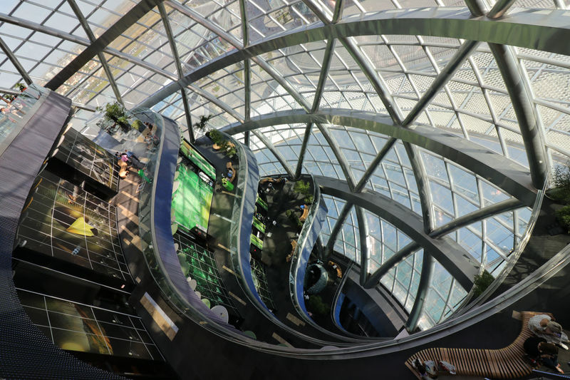 Architecture Low Angle View Built Structure Indoors  Day Expo 2017 Expo2017AstanaKz EXPo2017 Kazakhstan Modern Architecture Future Energy EyeEmNewHere The Week On EyeEm