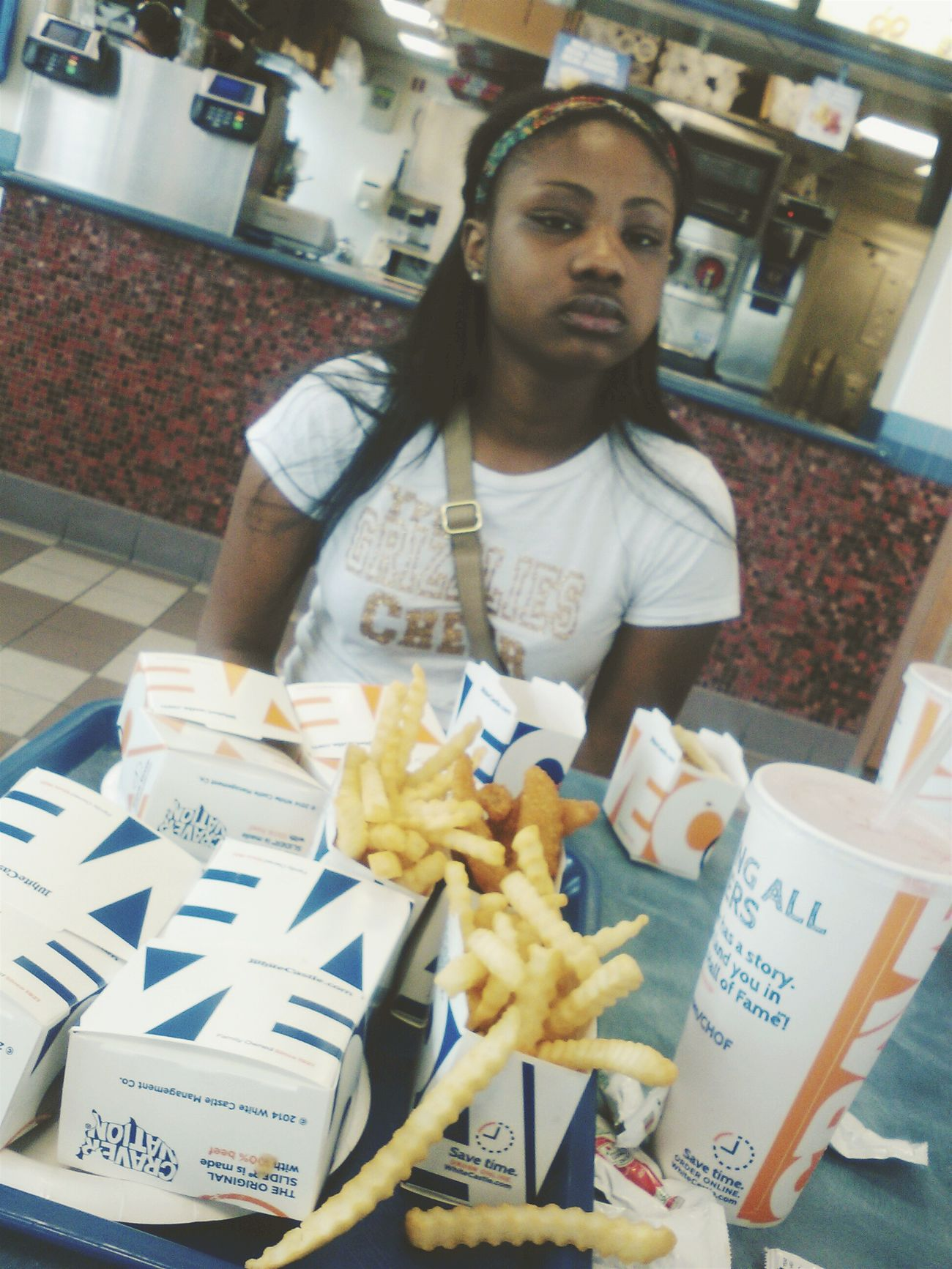 TBT / WHITE CASTLE WITH MY LIL COUSIN First Eyeem Photo