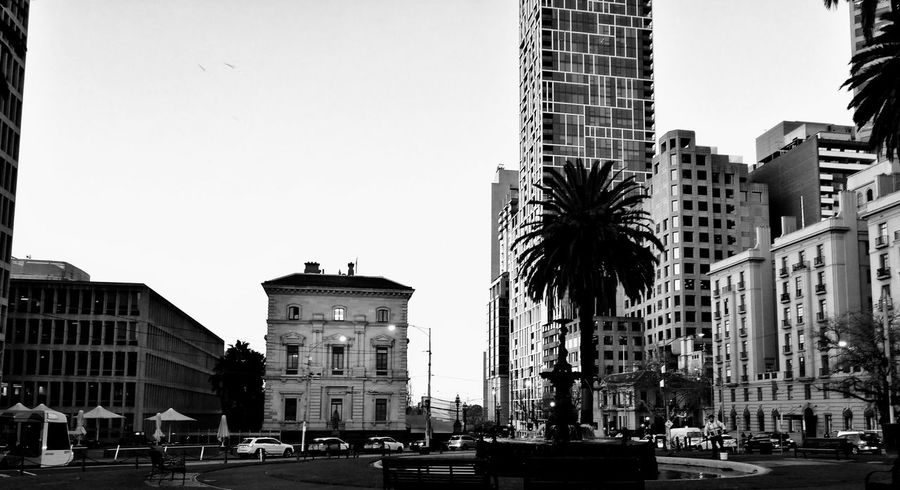 Melbourne city Melbourne City Monochrome HuaweiP9 Early Morning