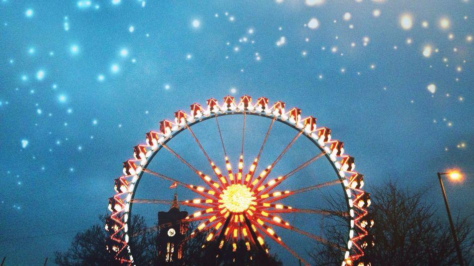 Beautiful stock photos of stars, Amusement Park, Berlin, Enjoyment, Ferris Wheel
