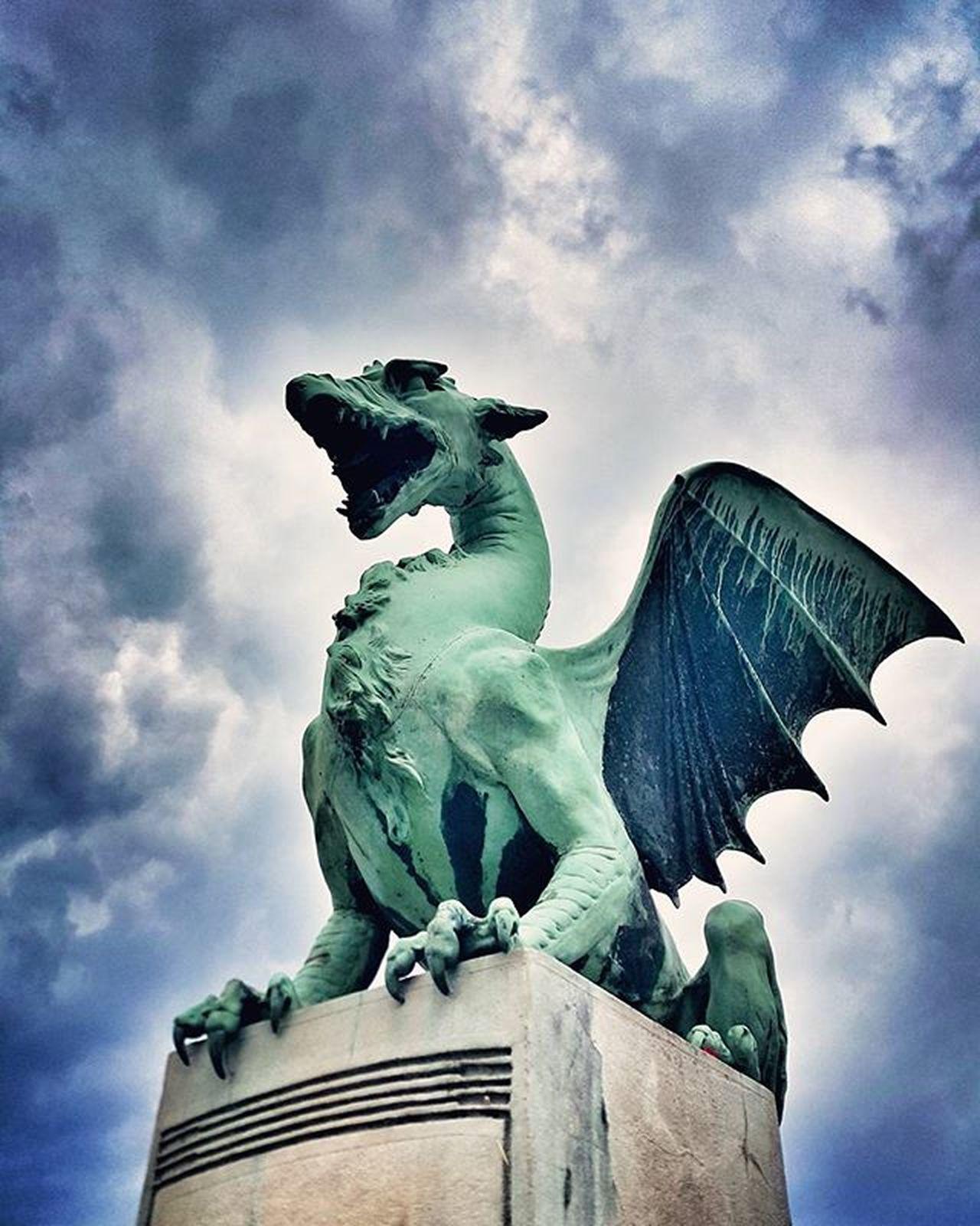 Dragon Ljubljana Visitljubljana Igljubljana Igslovenia Slovenia Iloveslovenia Dragonbridge Visitslovenia Zmajskimost IfeelsLOVEnia