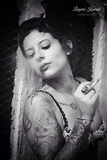 Photo Shoot Tattoo Portrait